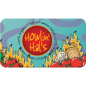 Monogrammed 4-Color Business Card Magnet