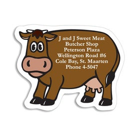 Custom Cow Magnet