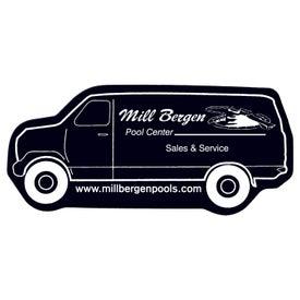 Monogrammed Delivery Van Flexible Magnet
