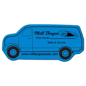 Delivery Van Flexible Magnet Giveaways