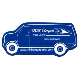 Company Delivery Van Flexible Magnet