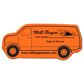 Printed Delivery Van Flexible Magnet
