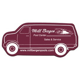 Logo Delivery Van Flexible Magnet