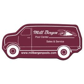 Logo Delivery Van Flexible Magnet