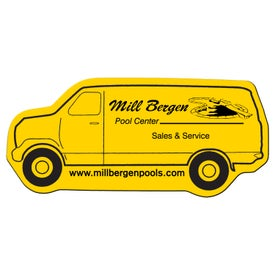 Delivery Van Flexible Magnet for Marketing
