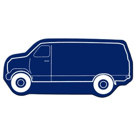 Monogrammed Delivery Van Flexible Magnet