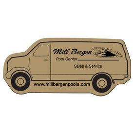 Delivery Van Flexible Magnet with Your Logo