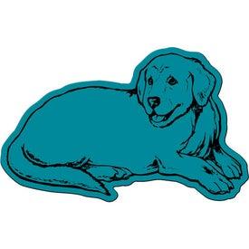 Imprinted Dog Flexible Magnet