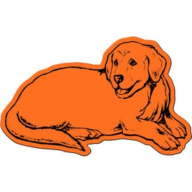 Dog Flexible Magnet with Your Logo