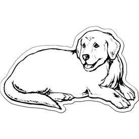Dog Flexible Magnet Imprinted with Your Logo