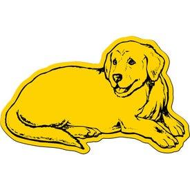 Monogrammed Dog Flexible Magnet