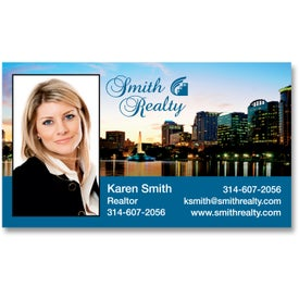 "Economy Business Card Magnet (0.02"" Thick)"