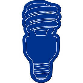 Energy Saver Light Bulb Flexible Magnet with Your Logo