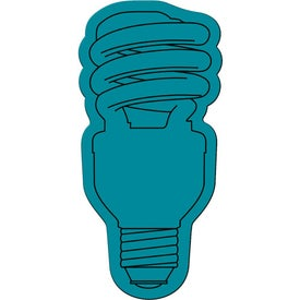 Personalized Energy Saver Light Bulb Flexible Magnet