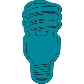 Personalized Energy Saver Light Bulb Flexible Magnet