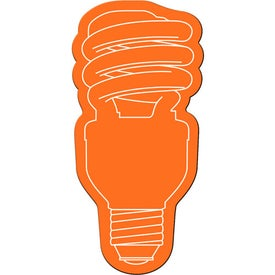 Energy Saver Light Bulb Flexible Magnet Branded with Your Logo