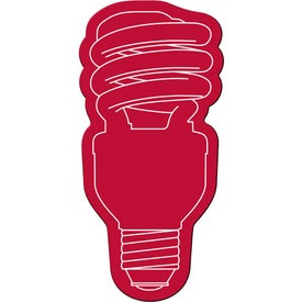 Energy Saver Light Bulb Flexible Magnet for Advertising