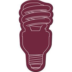 Energy Saver Light Bulb Flexible Magnet for Advertising