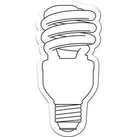 Energy Saver Light Bulb Flexible Magnet for Your Organization