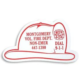 Fire Helmet Stock Shape Magnet