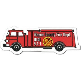 Fire Truck Magnet (Digitally Printed)
