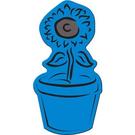 Flower Pot Flexible Magnet for Customization