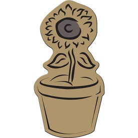 Flower Pot Flexible Magnet for Marketing
