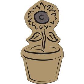 Flower Pot Flexible Magnet for Marketing