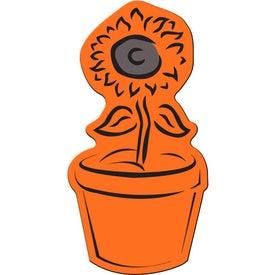 Personalized Flower Pot Flexible Magnet