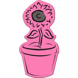 Branded Flower Pot Flexible Magnet