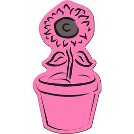 Branded Flower Pot Flexible Magnet