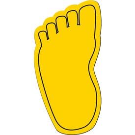 Foot Flexible Magnet Giveaways