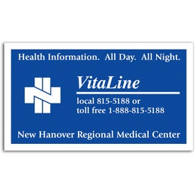 Customized Business Card Magnet