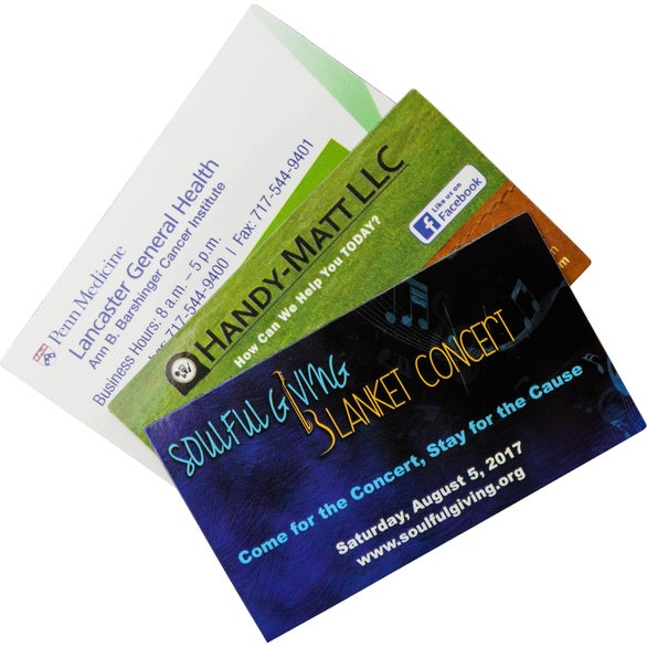 Full Color Imprint Creative Business Card Magnet