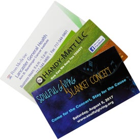 "Business Card Magnet (0.02"" Thick, 3.5"" x 2"")"