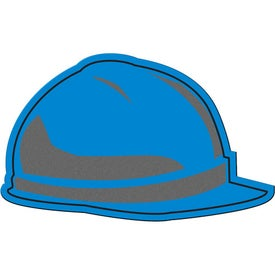 Monogrammed Hard Hat Flexible Magnet