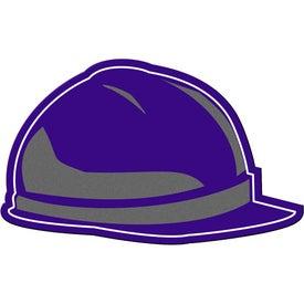 Logo Hard Hat Flexible Magnet