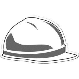 Hard Hat Flexible Magnet for Promotion