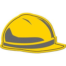 Hard Hat Flexible Magnet for Marketing