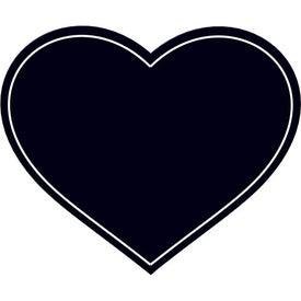 Promotional Heart Flexible Magnet