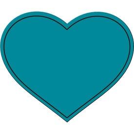 Printed Heart Flexible Magnet
