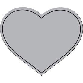 Heart Flexible Magnet for Marketing
