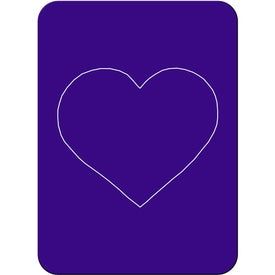 Heart Photo Magnet Printed with Your Logo