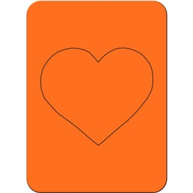Heart Photo Magnet for Marketing