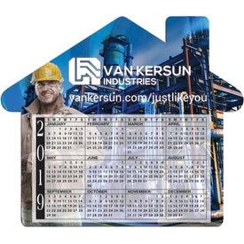 House Calendar Magnet (20 Mil)