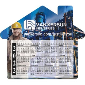 House Calendar Magnet (20 Mil, Digitally Printed)