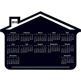 Printed Customizable House Calendar Magnet