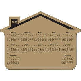 Customizable House Calendar Magnet for Your Company