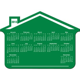 Customizable House Calendar Magnet Printed with Your Logo