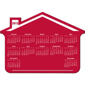 House Calendar Magnet for Promotion